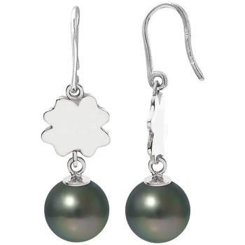 Uhren & Schmuck Damen Ohrringe Blue Pearls BPS K385 W Grün