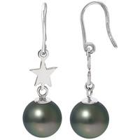 Uhren & Schmuck Damen Ohrringe Blue Pearls BPS K384 W Grün