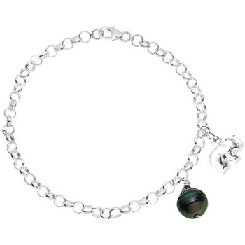 Uhren & Schmuck Damen Armbänder Blue Pearls BPS K104 W Grün
