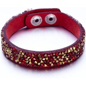 Uhren & Schmuck Damen Armbänder Blue Pearls CRY G147 F Multicolor