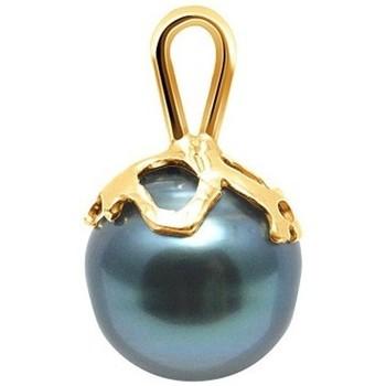 Uhren & Schmuck Damen Anhänger Blue Pearls BPS K214 W Gold