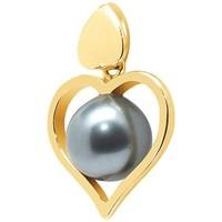 Uhren Damen Anhänger Blue Pearls BPS K212 W Gold