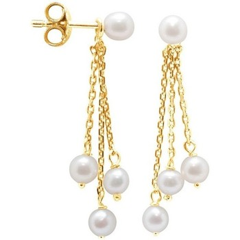Uhren & Schmuck Damen Ohrringe Blue Pearls BPS K307 W Multicolor