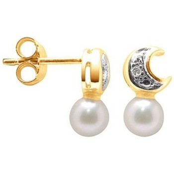 Uhren & Schmuck Damen Ohrringe Blue Pearls BPS K303 W Multicolor