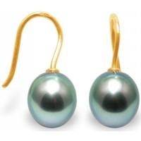 Uhren Damen Ohrringe Blue Pearls Tahiti-PerlenOhrringe - Verschluss und Fassung: Gelbgold 375/100 Multicolor