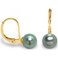 Uhren & Schmuck Damen Ohrringe Blue Pearls BPS K309 W Gold
