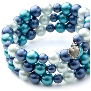 Uhren & Schmuck Damen Armbänder Blue Pearls OCP 0130 Multicolor