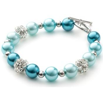 Uhren & Schmuck Damen Armbänder Blue Pearls OCP 0101 Multicolor