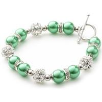 Uhren & Schmuck Damen Armbänder Blue Pearls OCP 0110 Multicolor