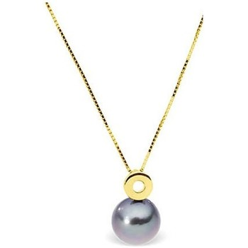 Uhren Damen Collier Blue Pearls BPS K009 W Weiss