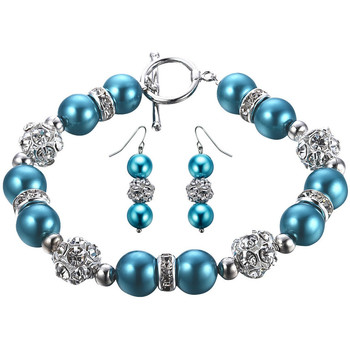 Uhren & Schmuck Damen Schmuck Blue Pearls OCP 0701 Multicolor