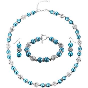 Uhren & Schmuck Damen Schmuck Blue Pearls OCP 0601 Multicolor