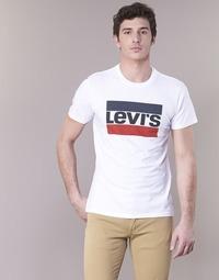 Kleidung Herren T-Shirts Levi's GRAPHIC SPORTSWEAR LOGO Weiss / Blau / Rot