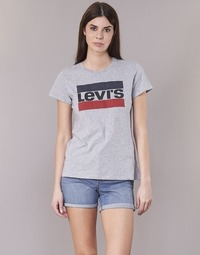 Kleidung Damen T-Shirts Levi's THE PERFECT TEE Grau
