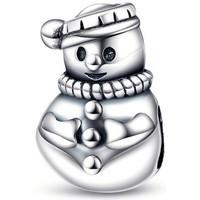 Uhren Damen Anhänger Blue Pearls Schneemann-Abstandhalter 925 silber für Charms-Anhänger Other