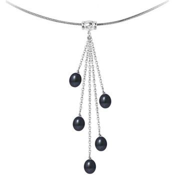 Uhren & Schmuck Damen Collier Blue Pearls BPS K733 W Multicolor