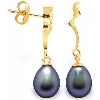 Uhren & Schmuck Damen Ohrringe Blue Pearls BPS K320 W Multicolor