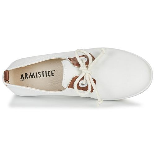 Armistice STONE ONE W Damen Weiss  Schuhe TurnschuheLow Damen W 58,99 c0fe15