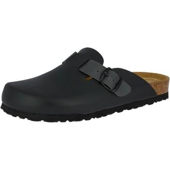 Schuhe Herren Pantoffel Lico Bioline clog soft schwarz