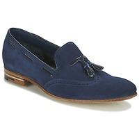 Schuhe Herren Slipper Barker RAY Marine