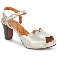 Schuhe Damen Sandalen / Sandaletten Chie Mihara UNDIA Silbern