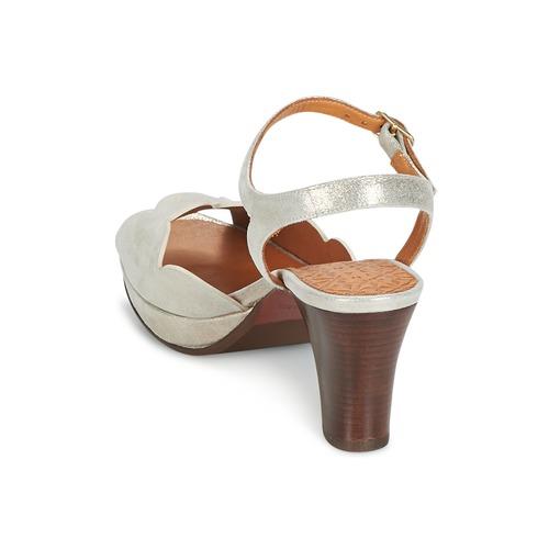 Chie Mihara UNDIA Silbern Schuhe Sandalen / Sandaletten Damen 198,50