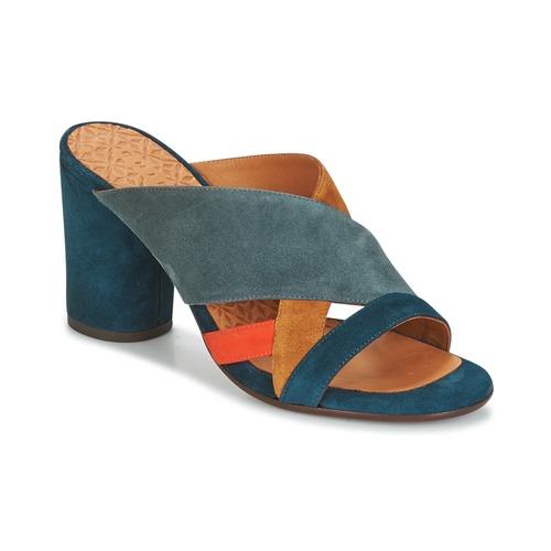 Chie Mihara UNIL Blau  Schuhe Pantoffel Damen 244,50