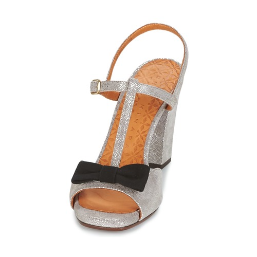 Chie Mihara BRAILE Grau Schuhe Sandalen / Sandaletten Damen 157,50