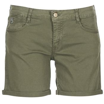 Kleidung Damen Shorts / Bermudas Le Temps des Cerises RAIPORT Kaki