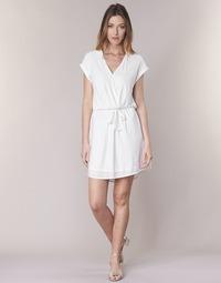 Kleidung Damen Kurze Kleider Le Temps des Cerises FORKATON Weiss