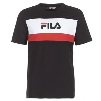 Kleidung Herren T-Shirts Fila AARON TEE SS Schwarz