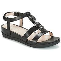 Schuhe Damen Sandalen / Sandaletten Stonefly EVE Schwarz