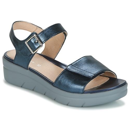 Stonefly AQUA III Blau Schuhe Sandalen / Sandaletten Damen 71,90