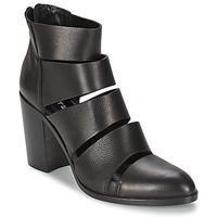 Schuhe Damen Low Boots Strategia AVEZZANO Schwarz