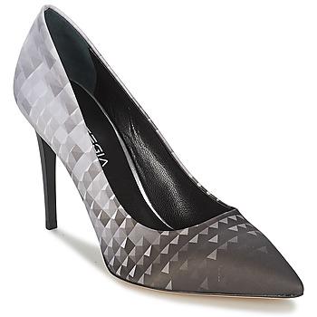 Schuhe Damen Pumps Strategia BALSORANO Schwarz / Grau