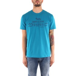 Kleidung Herren T-Shirts Harmont & Blaine I019520784 T-Shirts Mann turquoise turquoise