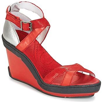 Schuhe Damen Sandalen / Sandaletten Pataugas GOUY Rot