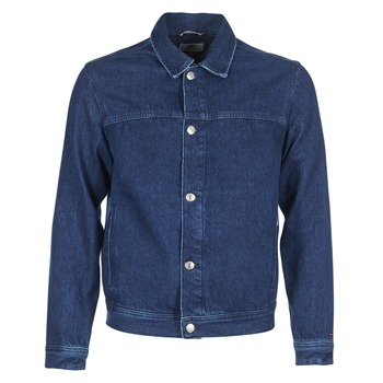 Kleidung Herren Jeansjacken Tommy Jeans TJM STREET TRUCKER JKT Blau