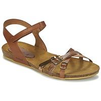 Schuhe Mädchen Sandalen / Sandaletten Kickers BONAVISTA Camel