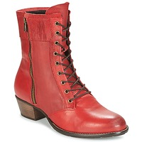 Schuhe Damen Low Boots Dkode RONNIE Rot