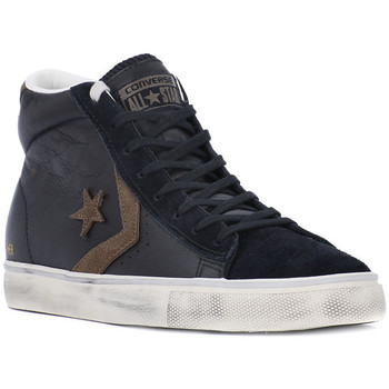 Schuhe Sneaker High Converse PRO LEATHER VULC MID Nero