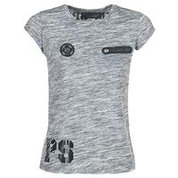 Kleidung Damen T-Shirts Philipp Plein Sport SITTIN OVER HERE Grau