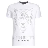Kleidung Herren T-Shirts Philipp Plein Sport EDBERG Weiss / Silbern