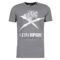 Kleidung Herren T-Shirts Philipp Plein Sport BORIS Grau / Silbern