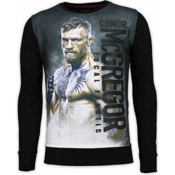 Kleidung Herren Sweatshirts Local Fanatic Conor McGregor Digital Strass Schwarz