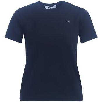 Kleidung Damen T-Shirts Comme Des Garcons T-Shirt da donna  nera Schwarz
