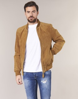 Kleidung Herren Lederjacken / Kunstlederjacken Schott LC301 Cognac