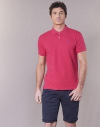 Kleidung Herren Polohemden Gant CONTRAST COLLAR PIQUE RUGGER Rose