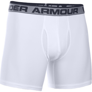 Kleidung Herren Boxershorts/Slips Under Armour The original BoxerJock 6 Weiss