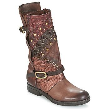 Schuhe Damen Boots Airstep / A.S.98 VERTI Schokobraun